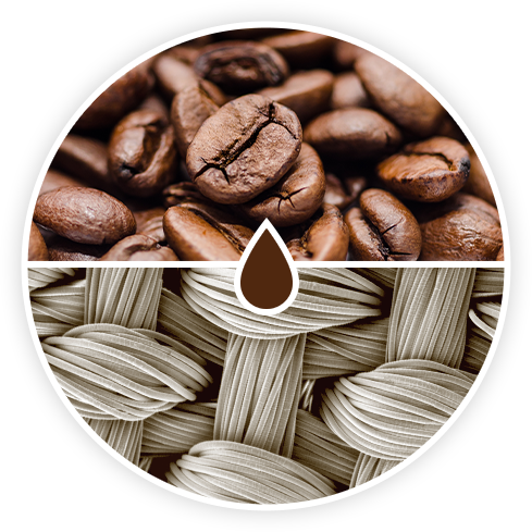 Coffee-infused Fibres