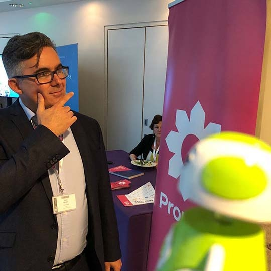 Rob Sparke - Hanging out with Steve Murphy at Propteq Europe. #whereisrobsparke