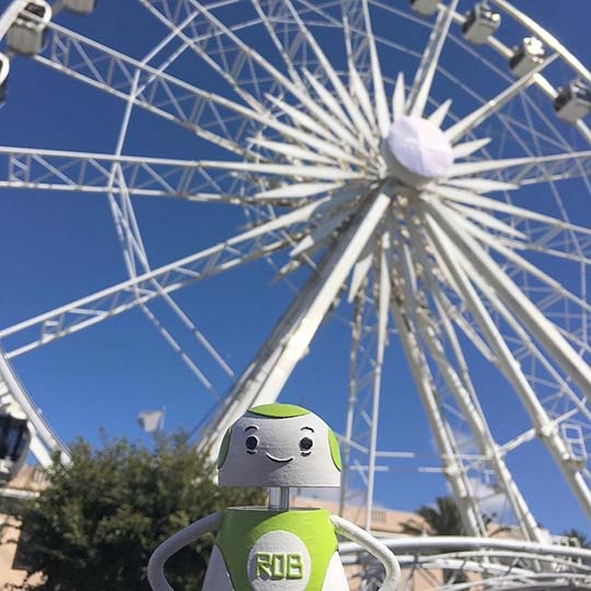 Rob Sparke - Sightseeing in Cape Town. Where should I go next? #whereisrobsparke