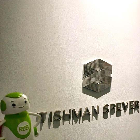 Rob Sparke - Meeting with our longest standing client, Tishman Speyer. #whereisrobsparke