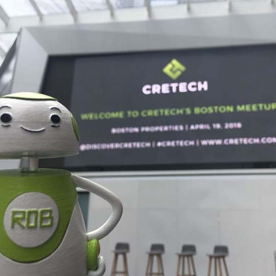 Rob Sparke - Had a brilliant time at the CREtech Boston Meetup. #whereisrobsparke