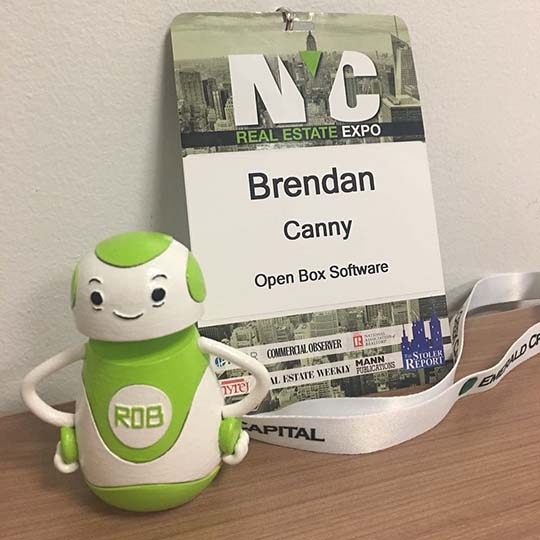 Rob Sparke - Had a great time with our MD of North America, @brencanny at the NYC Real Estate Expo. Some exciting stuff happening in the industry. Now off to the CREtech Meet Up in Boston. #whereisrobsparke