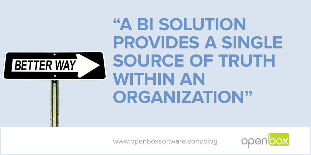 Open Box Blog-BI Solutions Without The Prohibitive Cost?