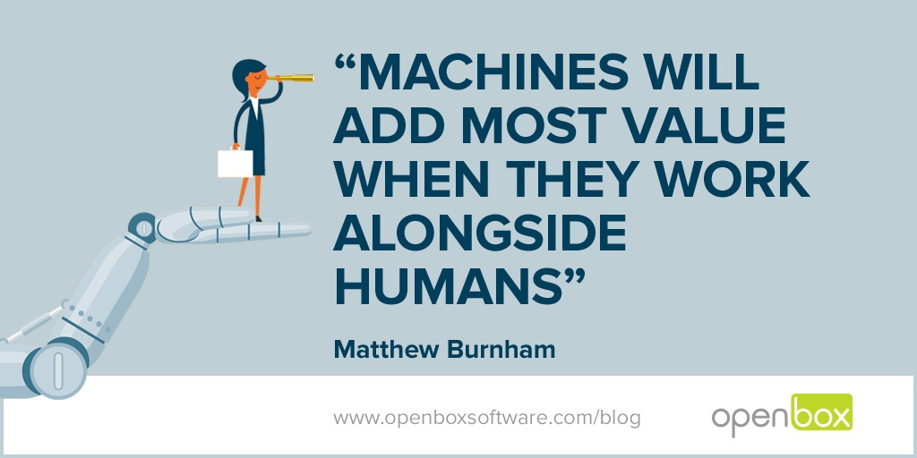 Open Box Blog Image Robots, it's all about people